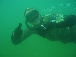 Me freediving